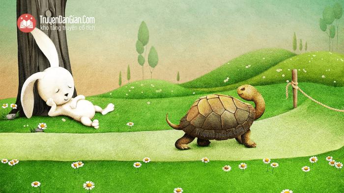 Rùa và Thỏ [Truyện ngụ ngôn La Phông-ten]