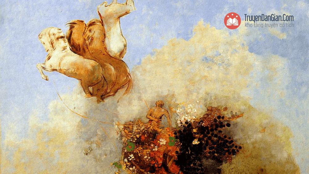 Thần Mặt Trời Helios và con trai trong Thần thoại Hy Lạp