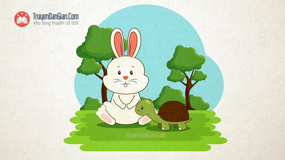 Truyện về tình bạn Rùa và Thỏ