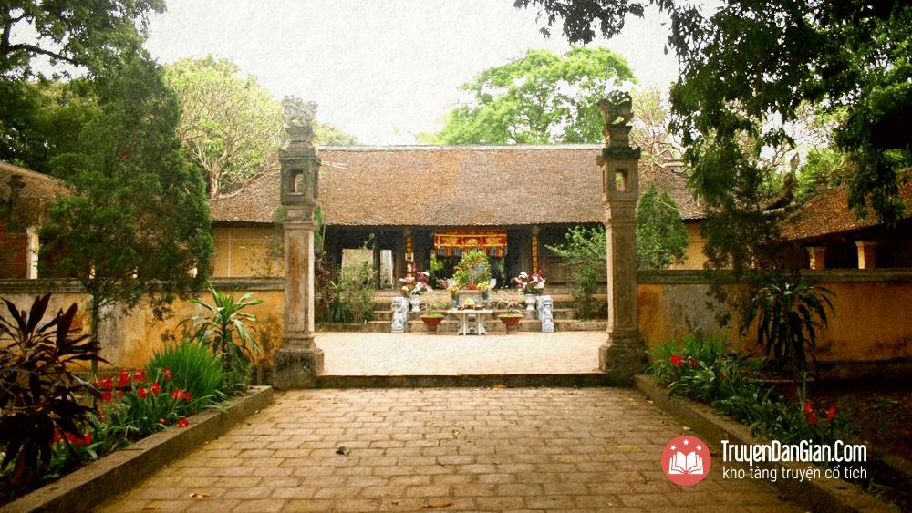 Đình thờ Phùng Hưng ở Đường Lâm