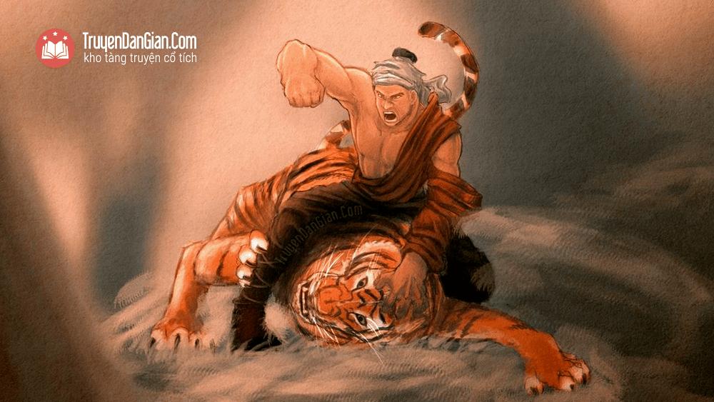 Ông Phùng Hưng đánh hổ