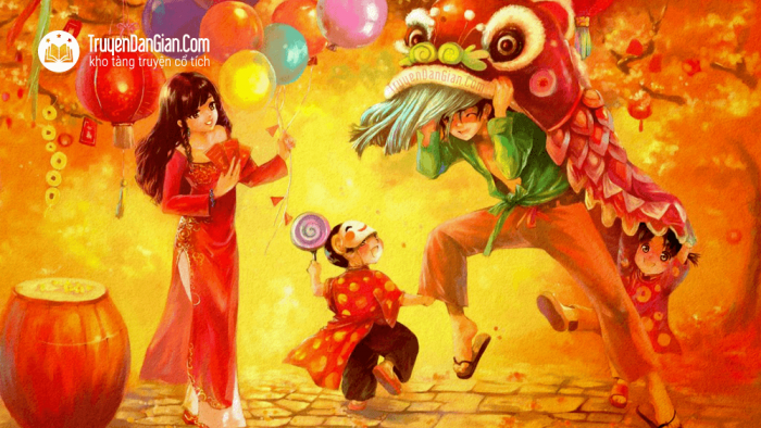 Sự tích Tết Trung thu [Truyện cổ tích Trung Quốc]