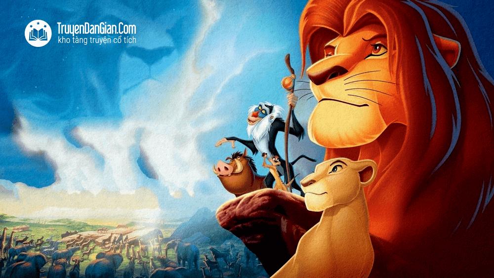 Vua sư tử - Niềm kiêu hãnh của Simba