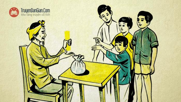 Câu chuyện bó đũa [Truyện ngụ ngôn Việt Nam]