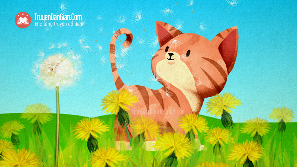 Bài thơ Chú mèo đi học