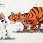 Con Hổ có lá gan Chuột nhắt