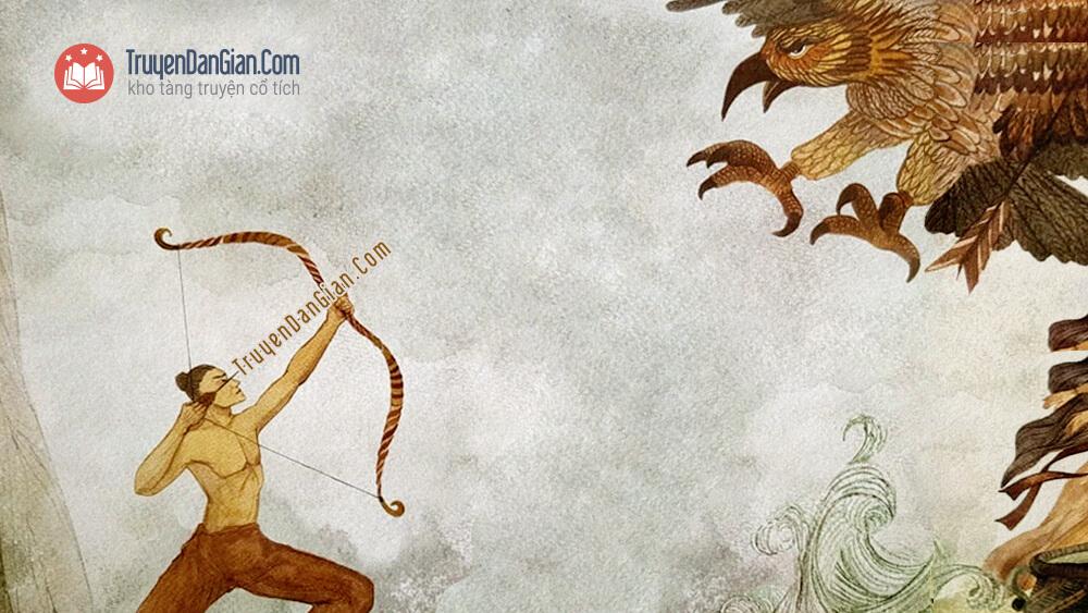 Thạch Sanh bắn Đại bàng
