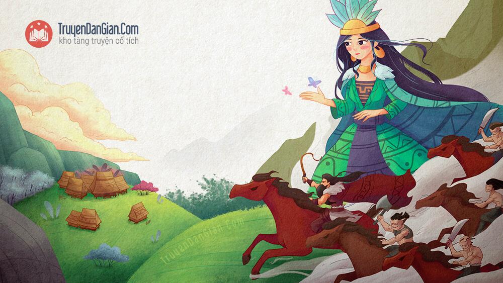 Truyện truyền thuyết con Rồng cháu Tiên
