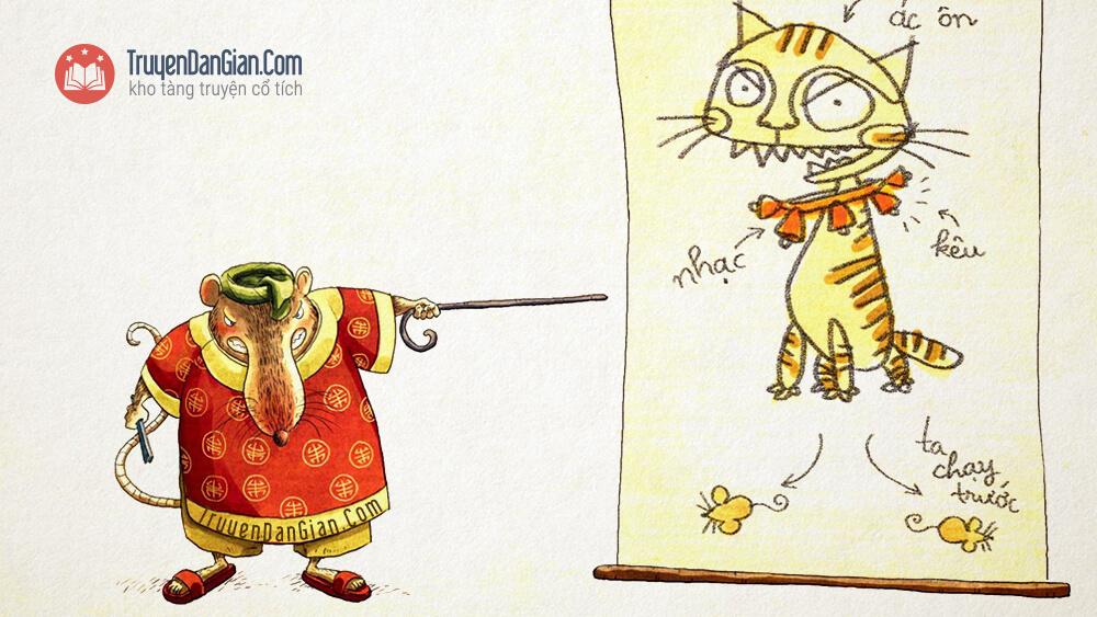 Truyện đeo chuông cho mèo