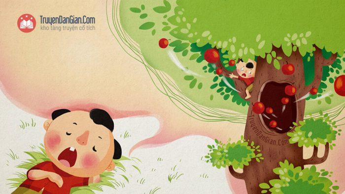 Truyện cây táo thần [Câu chuyện ý nghĩa cho bé]