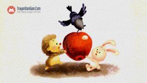 Truyện Quả táo của ai